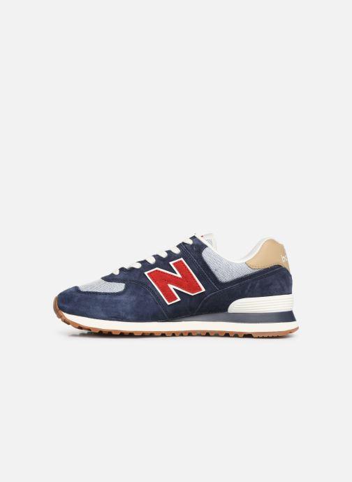 Sneaker New Balance 574 blau ansicht von vorne