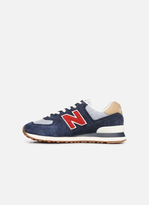 Trainers New Balance 574 Blue front view