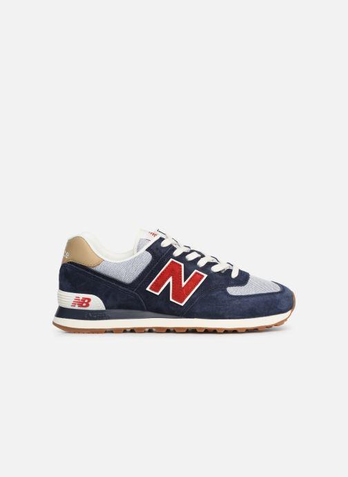 Sneaker New Balance 574 blau ansicht von hinten