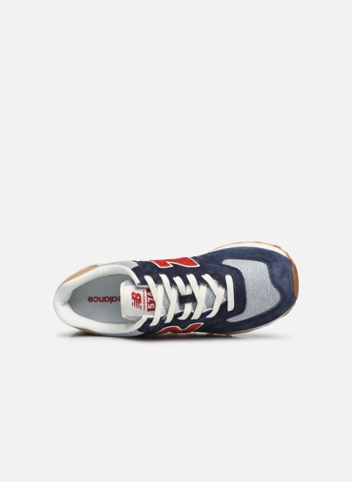 Trainers New Balance 574 Blue view from the left
