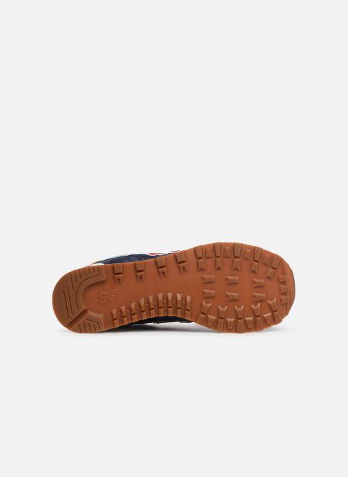 Sneaker New Balance 574 blau ansicht von oben