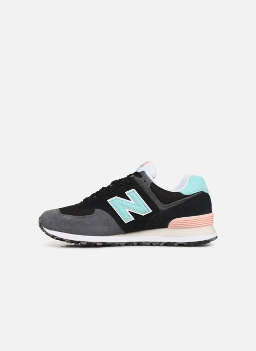 Trainers New Balance 574 Black front view