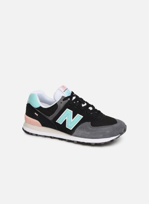 Trainers New Balance 574 Black detailed view/ Pair view