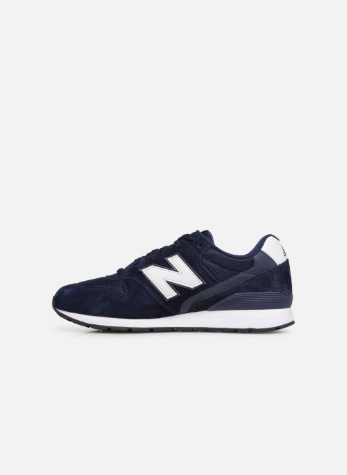Baskets New Balance 996 Bleu vue face