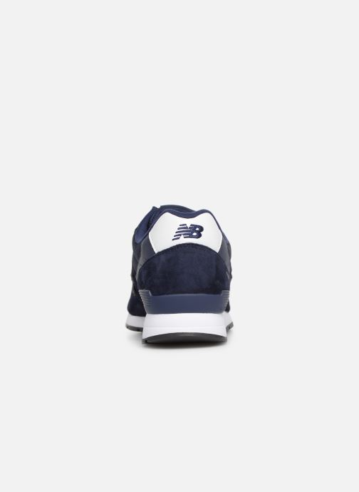 Sneaker New Balance 996 blau ansicht von rechts