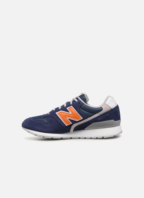 Trainers New Balance 996 Blue front view