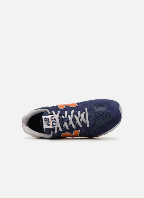 Sneakers New Balance 996 Blå bild från vänster sidan