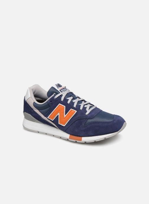 Sneakers New Balance 996 Blå detaljerad bild på paret