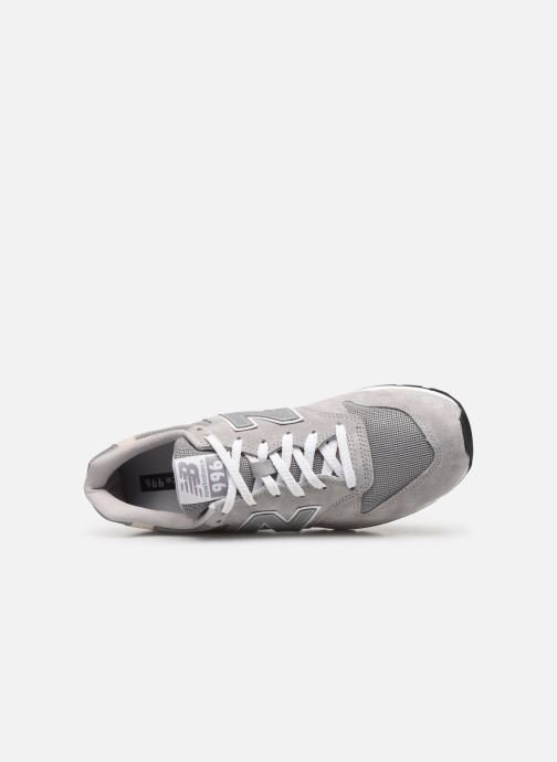 Trainers New Balance 996 Grey view from the left