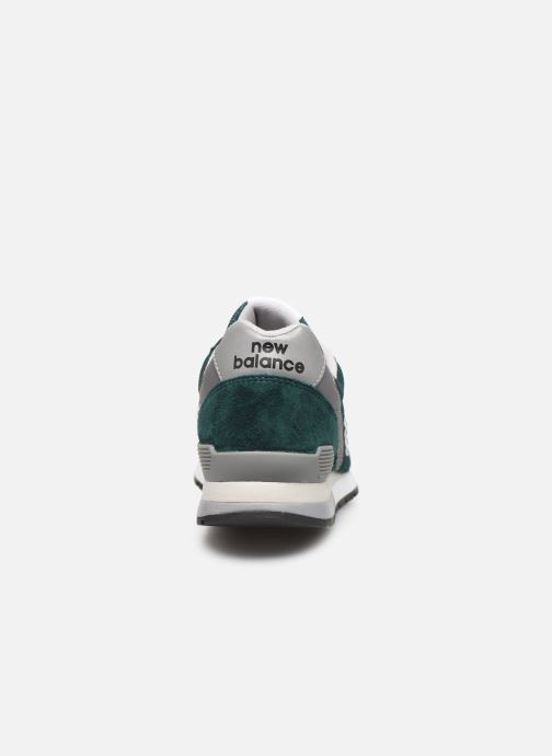Trainers New Balance 996 Green view from the right