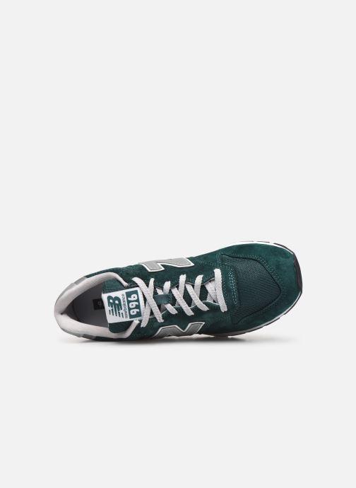 Baskets New Balance 996 Vert vue gauche