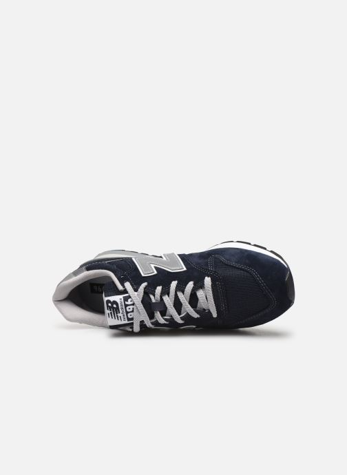 Trainers New Balance 996 Blue view from the left