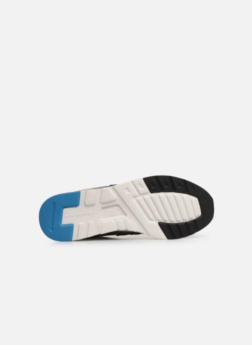 Sneaker New Balance 997 grau ansicht von oben
