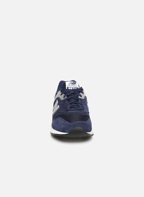 Trainers New Balance 997 Blue model view