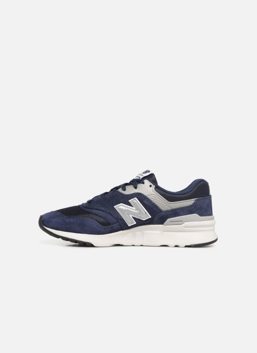 Sneakers New Balance 997 Azzurro immagine frontale