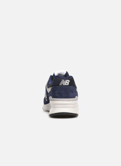 Baskets New Balance 997 Bleu vue droite