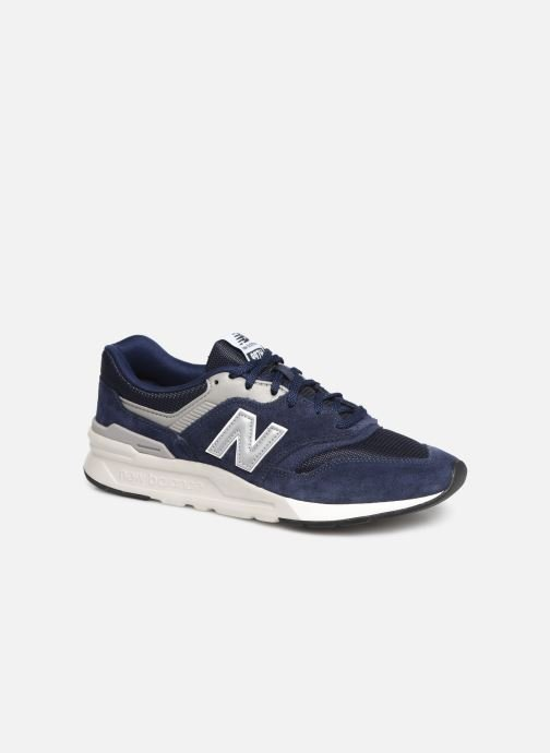 Trainers New Balance 997 Blue detailed view/ Pair view