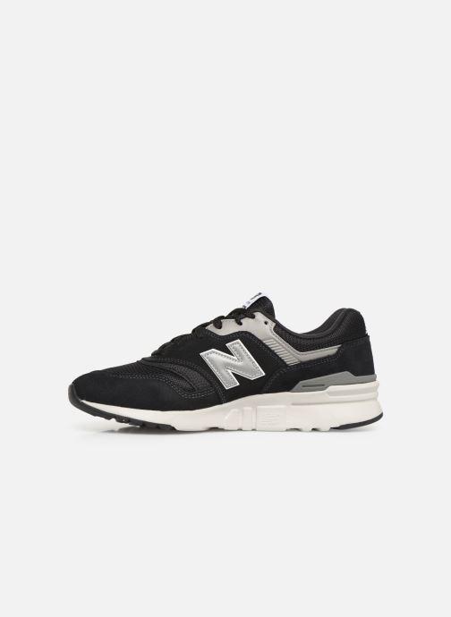 Sneakers New Balance 997 Zwart voorkant
