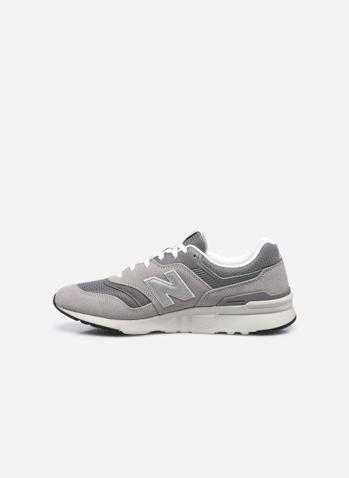 Sneaker New Balance 997 grau ansicht von vorne