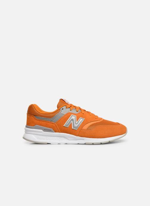 Baskets New Balance 997 Orange vue derrière