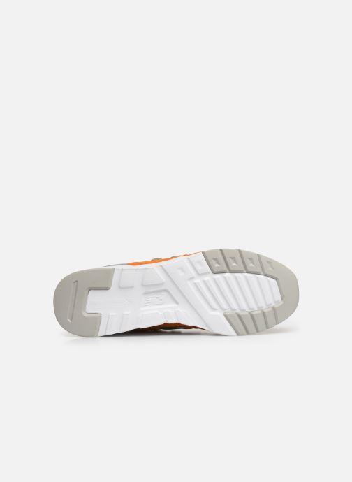 Baskets New Balance 997 Orange vue haut