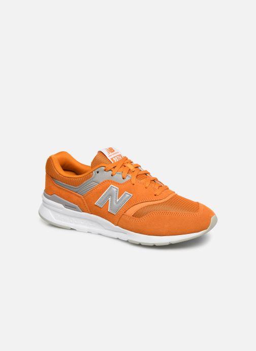 Baskets New Balance 997 Orange vue détail/paire