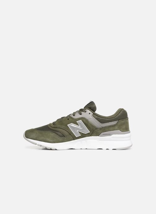 Baskets New Balance 997 Vert vue face