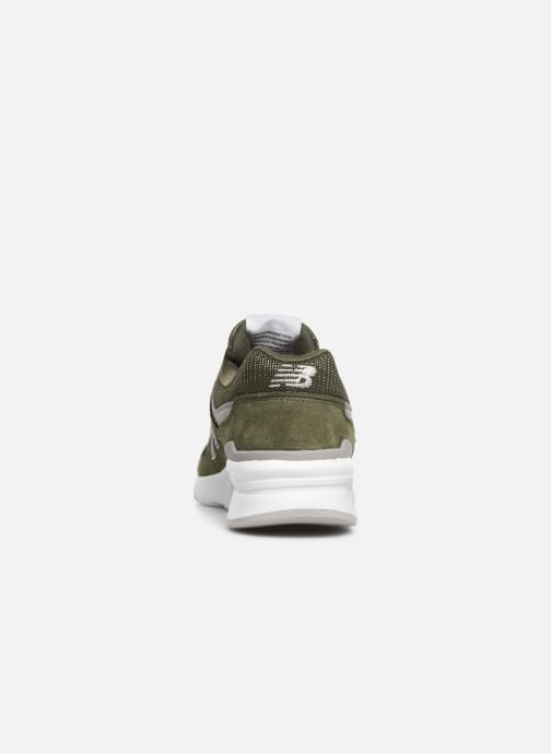 Trainers New Balance 997 Green view from the right