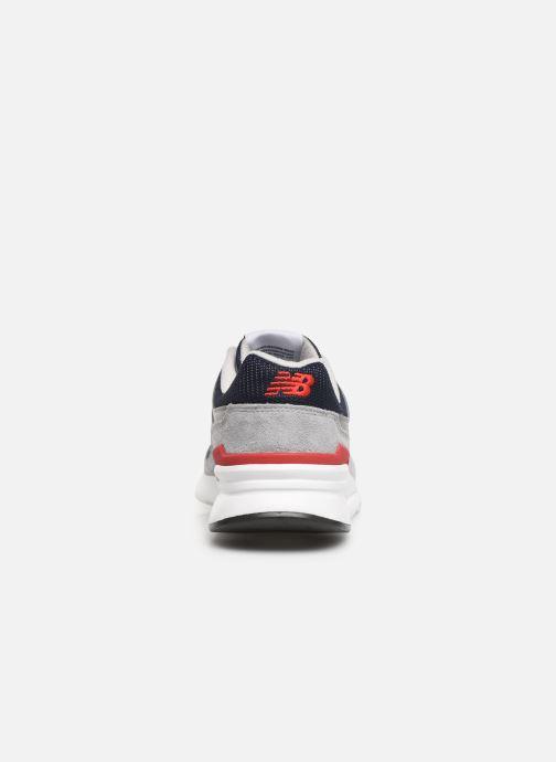 Baskets New Balance 997 Gris vue droite