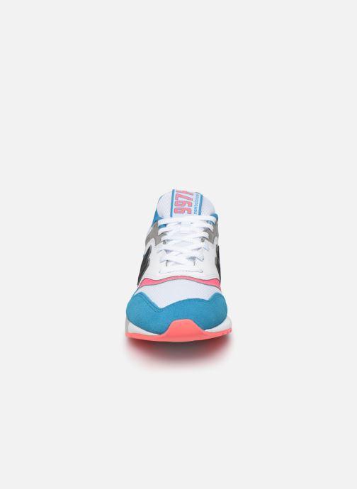 Sneaker New Balance 997 mehrfarbig schuhe getragen