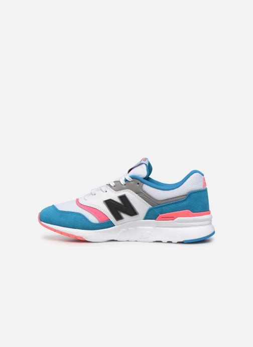 Sneaker New Balance 997 mehrfarbig ansicht von vorne