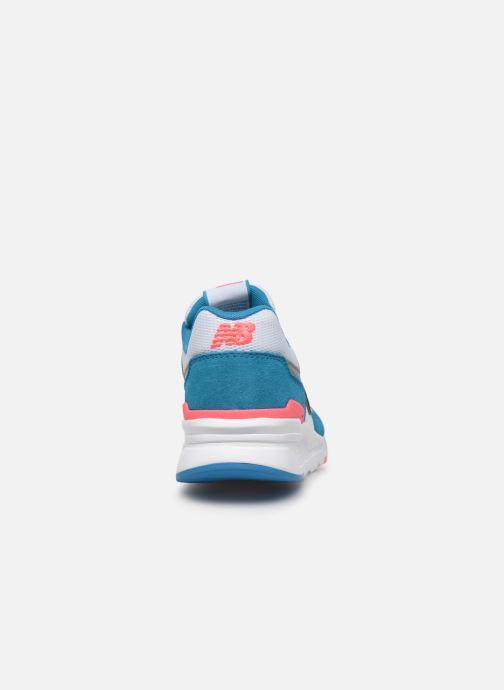 Sneaker New Balance 997 mehrfarbig ansicht von rechts