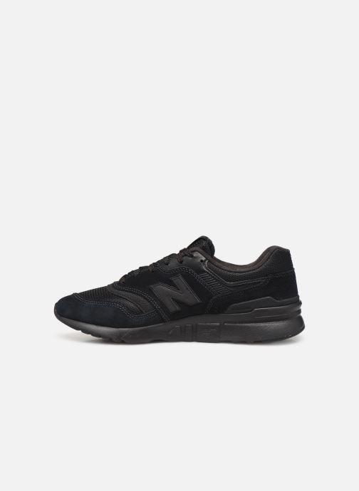 Sneaker New Balance 997 schwarz ansicht von vorne