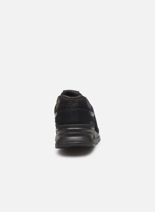Sneaker New Balance 997 schwarz ansicht von rechts