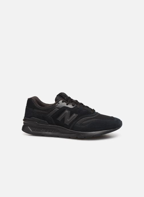 Sneaker New Balance 997 schwarz ansicht von hinten