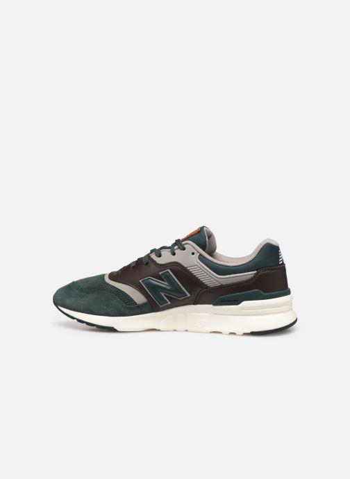 Sneaker New Balance 997 grün ansicht von vorne