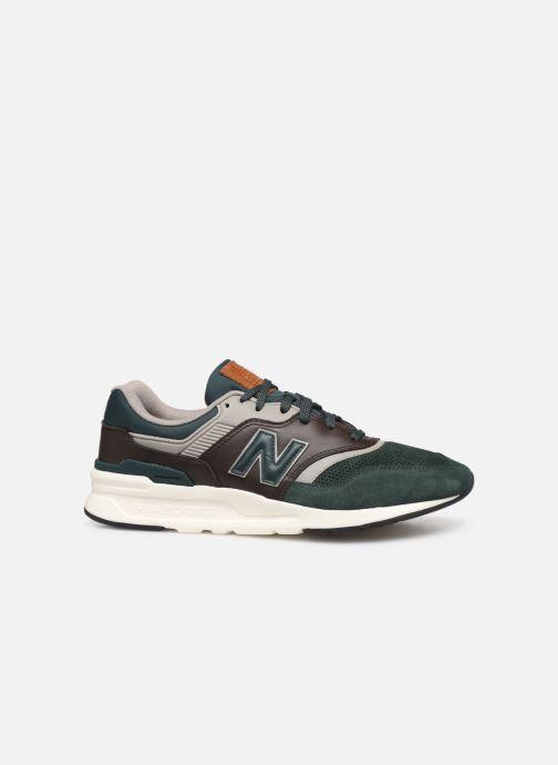 Sneaker New Balance 997 grün ansicht von hinten