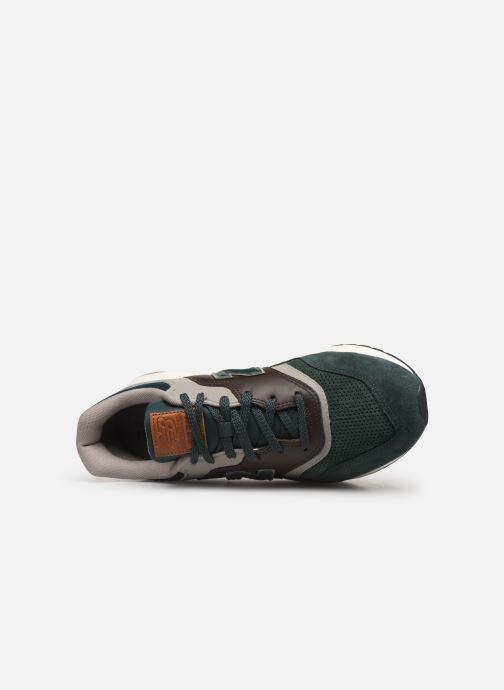 Baskets New Balance 997 Vert vue gauche