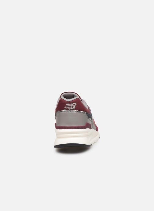Baskets New Balance 997 Bordeaux vue droite