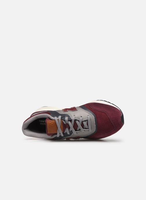 Baskets New Balance 997 Bordeaux vue gauche