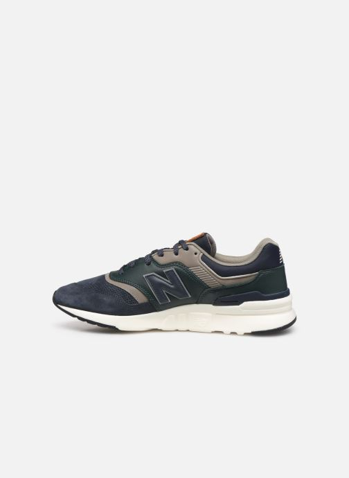 Trainers New Balance 997 Blue front view