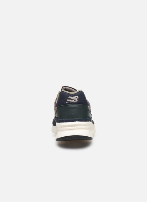 Trainers New Balance 997 Blue view from the right