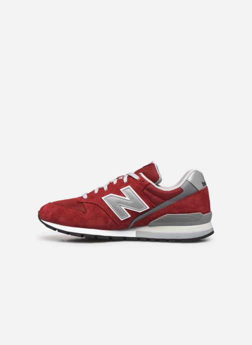 Deportivas New Balance 997 Rojo vista de frente