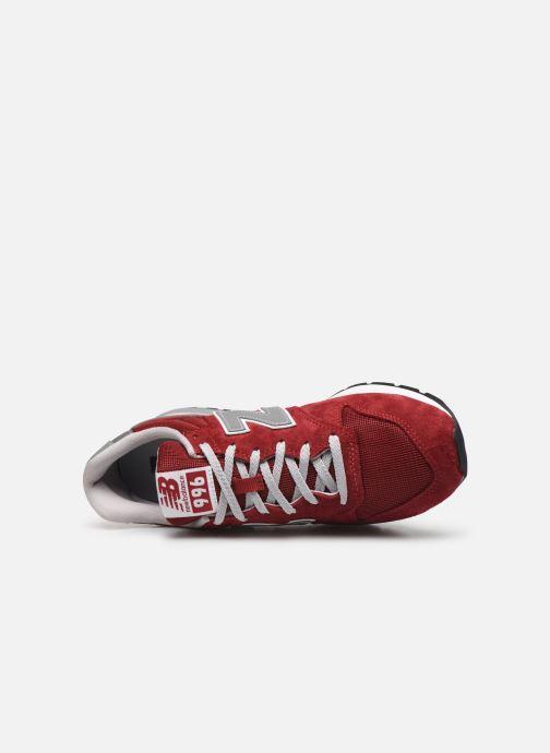 Baskets New Balance 997 Rouge vue gauche