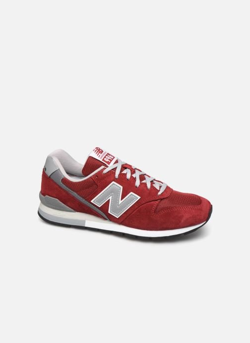 Trainers New Balance 997 Red detailed view/ Pair view
