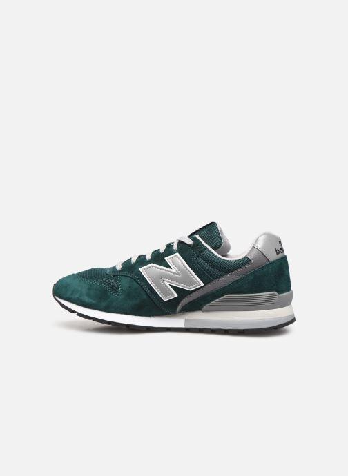Deportivas New Balance 997 Verde vista de frente
