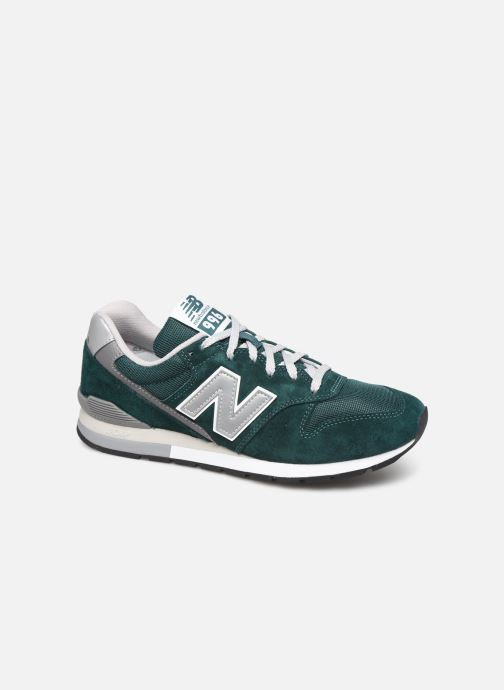 Baskets New Balance 997 Vert vue détail/paire