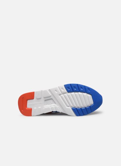 Baskets New Balance 997 Blanc vue haut