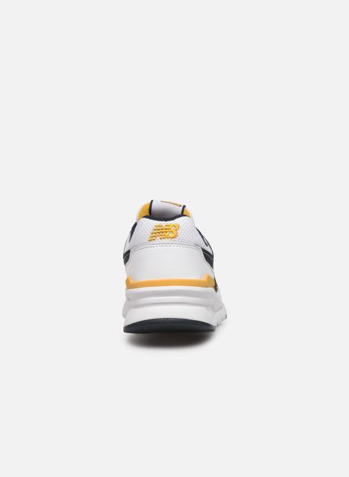 Baskets New Balance 997 Blanc vue droite