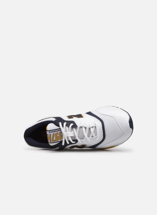 Baskets New Balance 997 Blanc vue gauche